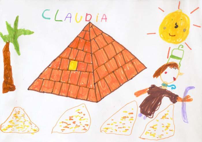 Cleopatra visita la Gran Pirámide