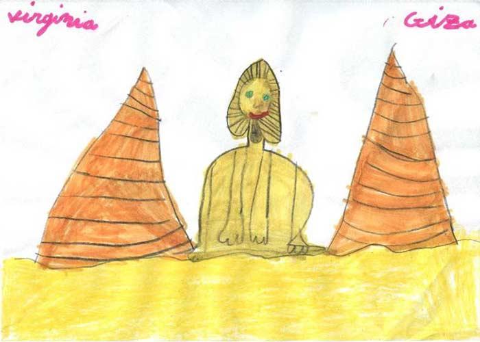 La Esfinge y las Pirámides