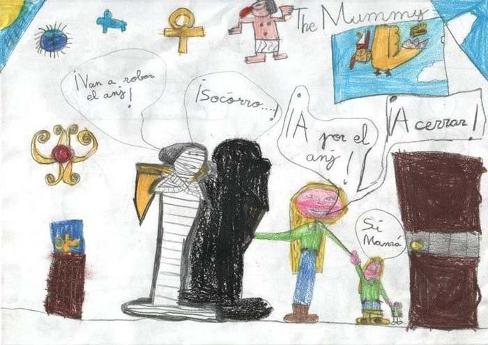 The Mummy ¡Quieren robar el anj!