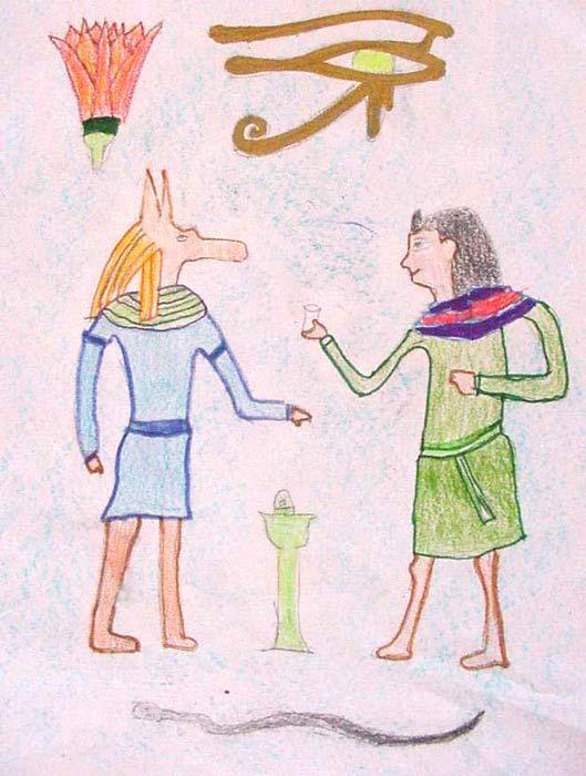 Ofrendas a Anubis