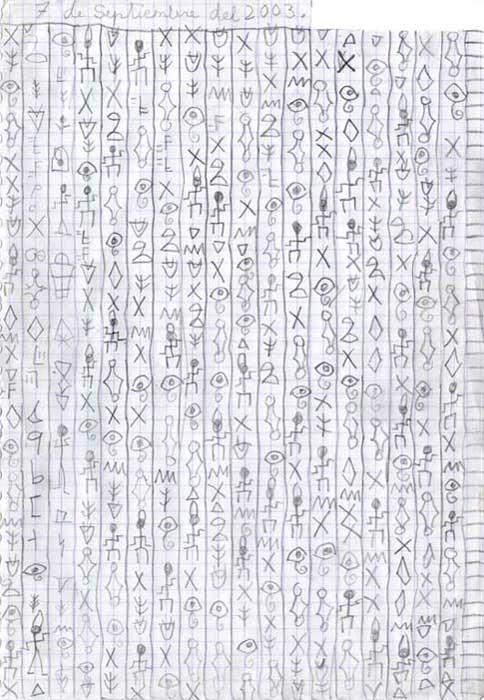 Egipto y su forma de escribir