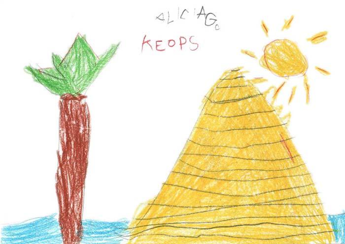 La morada del faraón Keops