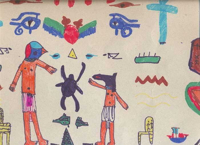 Horus y Anubis
