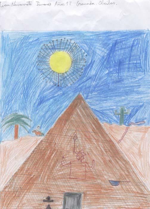 La pirámide Marrón