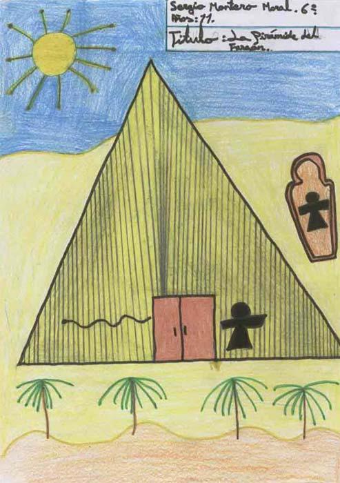 La pirámide del faraón