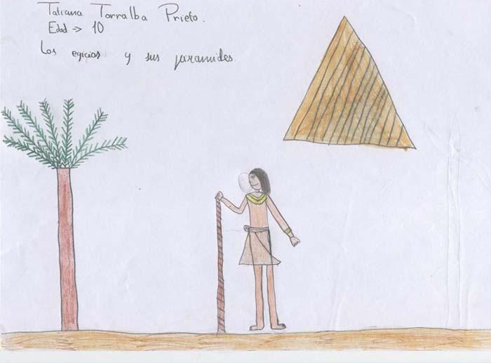 Los egipcios y sus pirámides