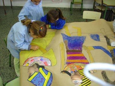 Realización de actividades: Elaboración de un friso