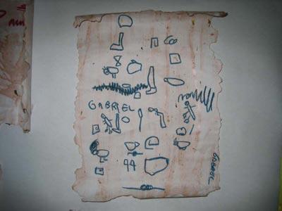 Realización de actividades: Elaboración de brazaletes y papiros