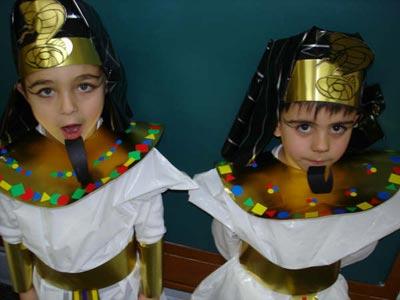 Carnaval egipcio: Los colegas de Tutankamón