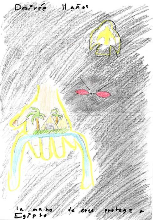La Mano de Horus protege a Egipto